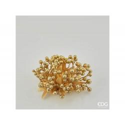 ENZO DE GASPERI Corona mille bacche oro 14cm