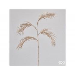 ENZO DE GASPERI Palma foglie bell con ramo h112 oro