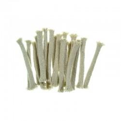 MANIFATTURA QUATTRO Stoppino per torcia bamboo confezione 20 pezzi