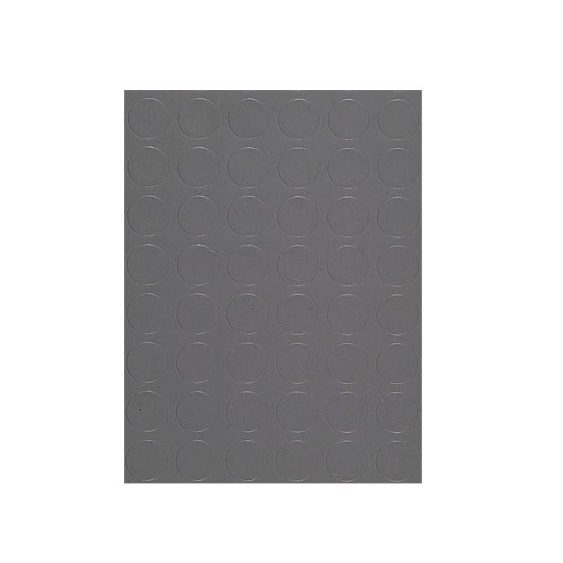 MANIFATTURA QUATTRO Copripavimento bollo PVC 1,3mm grigio scuro