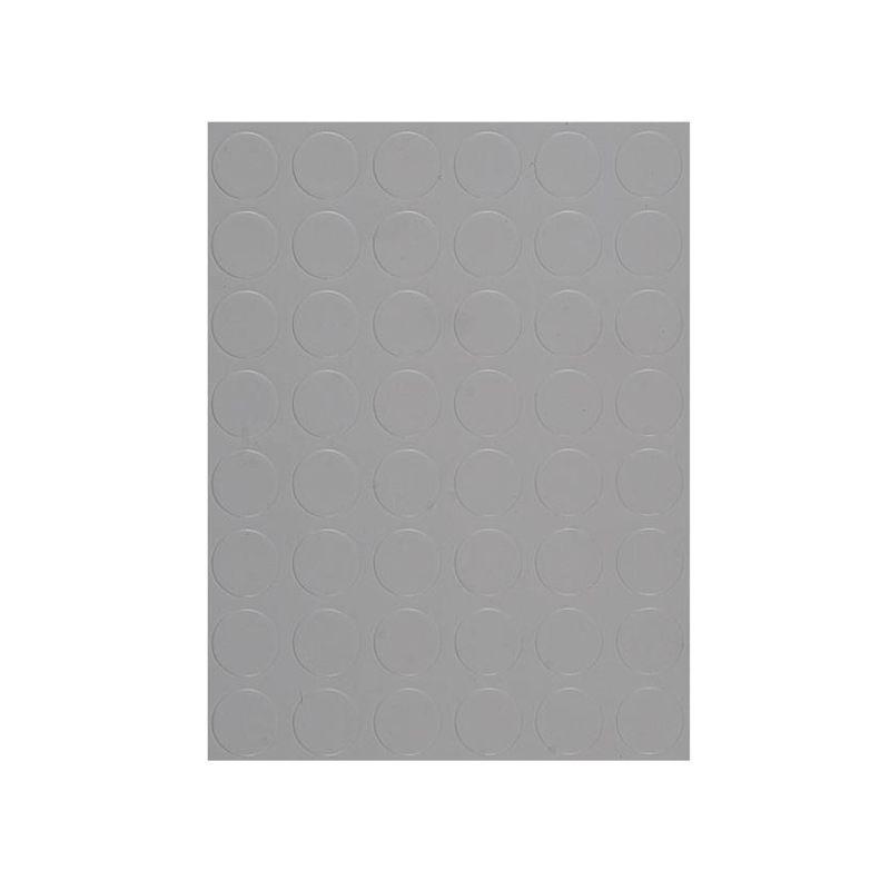 MANIFATTURA QUATTRO Copripavimento bollo PVC 1,3mm grigio chiaro