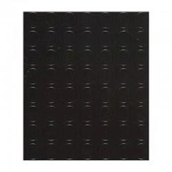 MANIFATTURA QUATTRO Copripavimento bollo PVC 1,3mm nero