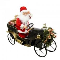 MERCURY Babbo Natale su macchina d'epoca