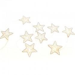 MERCURY Set 9 stelle con luce led