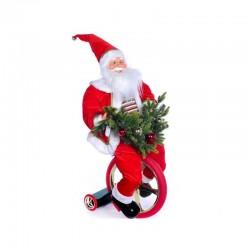 MERCURY Babbo Natale su monociclo musica e movimento