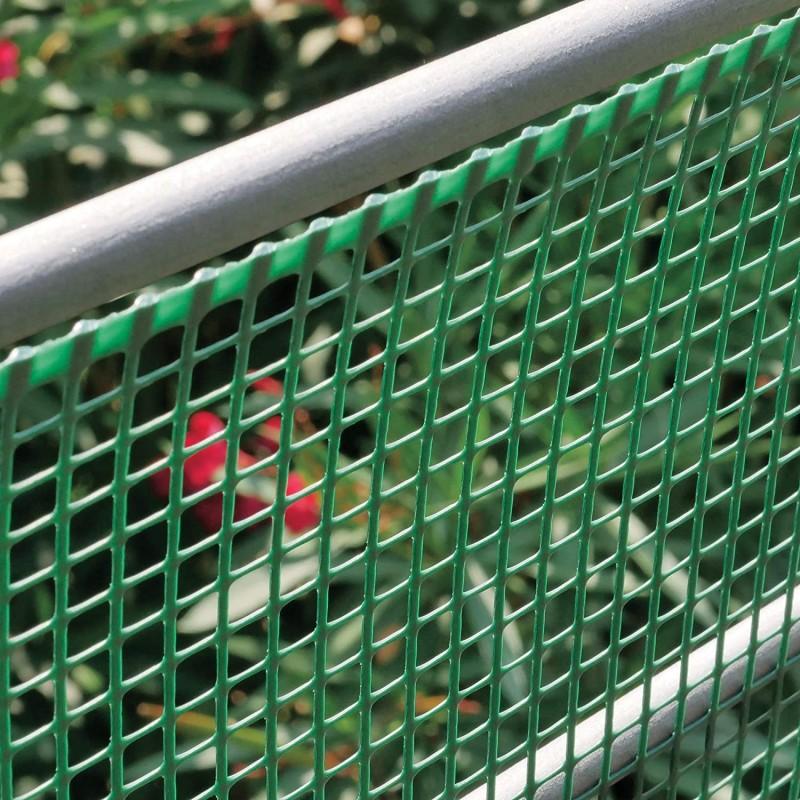 SAN GIORGIO Rete per recinzione in plastica verde 1x50mt