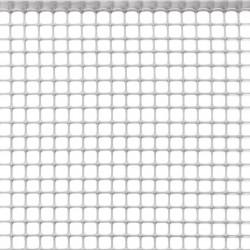 SAN GIORGIO Rete per recinzione plastica bianca 1x50mt