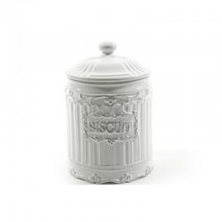 MERCURY Biscottiera In Ceramica Romantica